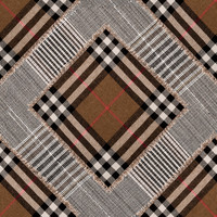 Vezi produsul Tapet designer CHECKERED PATCHWORK Mid Brown, MINDTHEGAP in magazinul xtdeco.ro