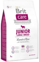 Vezi produsul Brit Care Junior Large Breed Lamb & Rice, 3 kg in magazinul petmart.ro