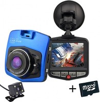Vezi produsul Camera auto Dubla iUni Dash 806, Full HD, 12Mpx, 2.5 Inch, 170 grade, Parking monitor G senzor, Blue+Card 16GB in magazinul techstar.ro