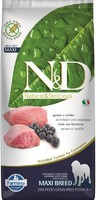 Vezi produsul N&D Dog Grain free Lamb and Blueberry Adult Maxi, 12 kg in magazinul petmart.ro