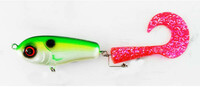Vezi produsul Vobler Wolf tail jr. 16cm 31g Green pink in magazinul maxlife.ro