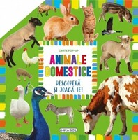Vezi produsul Animale domestice. Carte pop-up. Descoper? ?i joac?-te! in magazinul cartepedia.ro