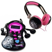 Vezi produsul Monster High set casti si mini radio in magazinul fantasiatoys.ro