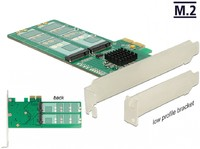 Vezi produsul PCI Express la 4 x internal M.2 Key B - Low Profile Form Factor, Delock 89588 in magazinul conectica.ro