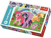 Vezi produsul Puzzle My Little Pony 60 piese in magazinul bebepufos.ro