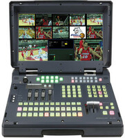 Vezi produsul DATAVIDEO HS-600 Mobile Studio with 8 Inputs Mixer ( Switcher ) & Intercom & Monitor in magazinul westbuy.ro