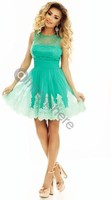 Vezi produsul Rochie baby-doll cu perle si broderie Rn 1720 in magazinul atmospherefashion.ro