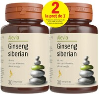 Vezi produsul Ginseng Siberian 30 cps (1+1 Gratis) Alevia in magazinul plantum.ro
