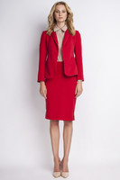 Vezi produsul Red jacket with shawl collars in magazinul molly-dress.com