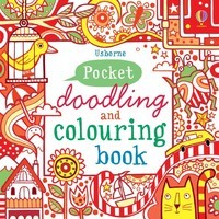 Vezi produsul Pocket doodling and colouring book: Red in magazinul biabooks.ro