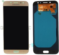 Vezi produsul Display Samsung Galaxy J7 2017 J730F Display OLED AAA Gold Auriu in magazinul powerlaptop.ro