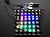 Vezi produsul RGB Matrix HAT + RTC for Raspberry Pi Mini Kit in magazinul robofun.ro