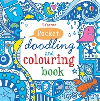 Vezi produsul Pocket doodling and colouring book: Blue in magazinul biabooks.ro