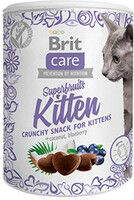 Vezi produsul Brit Care Cat Snack Superfruits Kitten 100 g in magazinul shop.perfectpet.ro