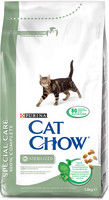 Vezi produsul Cat Chow Sterilised Special Care in magazinul petmart.ro