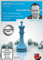 Vezi produsul DVD: The White Sniper ( winning with g3, Bg2 an c4 ! ) - Charlie Storey in magazinul magazinuldesah.ro