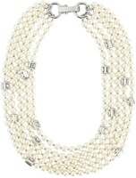 Vezi produsul Multi-strand necklace with beads in magazinul bestvalue.eu