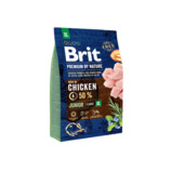 Vezi produsul BRIT Premium By Nature Junior Extra Large XL 3 kg in magazinul fera.ro