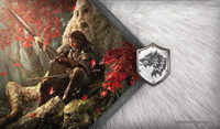 Vezi produsul A Game of Thrones: The Card Game Play Mat - Warden of the North in magazinul redgoblin.ro