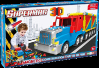 Vezi produsul Jucarie cu magnet camion 126 piese 3d supermag in magazinul kizo.ro