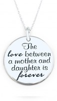 Vezi produsul Colier argint gravat Mother Daughter Love in magazinul personallyme.ro