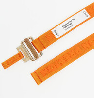 Vezi produsul HERON PRESTON Tape Belt Orange Gold in magazinul footshop.ro