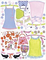 Vezi produsul Sticker gigant DRESS UP | 2 colite de 68,5 cm x 101,6 cm in magazinul ka-international.ro