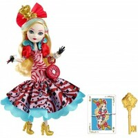 Vezi produsul Papusa Ever After High Taramul Minunilor - Apple White in magazinul ookee.ro