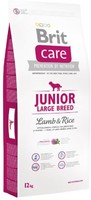 Vezi produsul Brit Care Junior Large Breed Lamb & Rice, 12 kg in magazinul petmart.ro