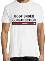Vezi produsul Tricou Body under construction in magazinul creativgift.ro