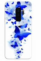 Vezi produsul Husa Silicon Soft Upzz Print Samsung Galaxy S9+ Plus Model Blue Butterflies in magazinul itelmobile.ro