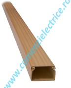 Vezi produsul CANAL CABLU DIN PLASTIC 2M 12X12MM LIGHT BEECH (FAG DESCHIS) in magazinul comenzielectrice.ro