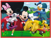 Vezi produsul Puzzle Ravensburger - Clubul Lui Mickey Mouse, 12/16/20/24 piese (07142) in magazinul welovepuzzle.ro
