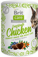 Vezi produsul Brit Care Cat Snack Superfruits Chicken 100 g in magazinul shop.perfectpet.ro